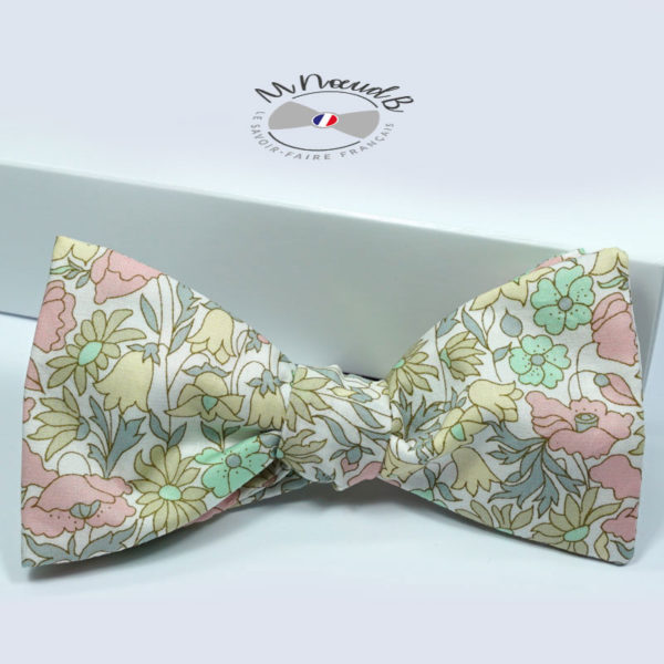 Noeud papillon Liberty Poppy and Daisy B
