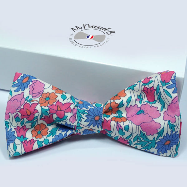Noeud papillon Liberty Poppy and Daisy L